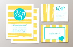 Cartões e convites elegantes bonitos