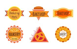 Collection of vintage retro bakery
