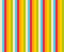 Vertical lines retro color pattern.
