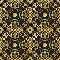Arte deco de luxo ouro fundo vintage