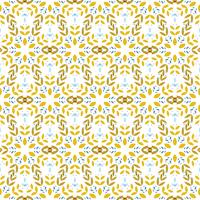 Flower seamless pattern.