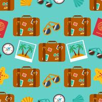 seamless backgrounds of travel, summer