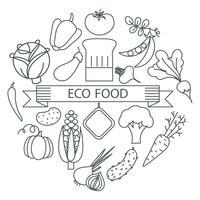 concepto de alimentación saludable.
