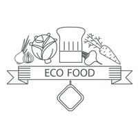 badge ecological food