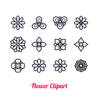 Bloem Clipart Vector