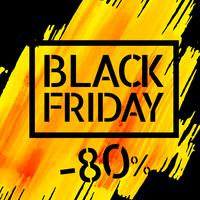 Black Friday-Verkaufsplakatdesign