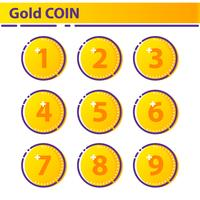 Gold Coin Icon.