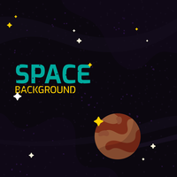 Galaxy Background Vector