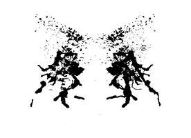 Rorschach inkblot-test
