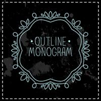 ligne mono cadre vintage
