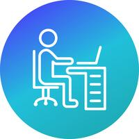 Arbeitsbereich-Vektor-Symbol