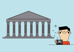 Vector libre del Partenón
