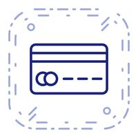 Vector Credit Card Icon