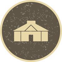 Ícone de vetor de yurt