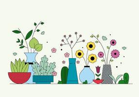 Vetor de plantas grátis