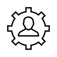 Management Vector Icon