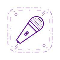Mic Vector Icon