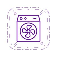 Room Cooler Vector Icon