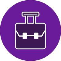 Vector icono de bolsa