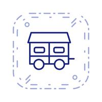 Mobile House Vector Icon