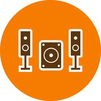 Music System Vector Icon