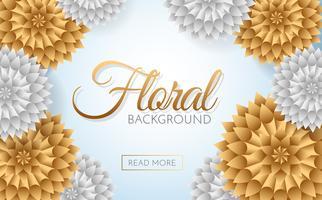 Fleurs de vente Vector background