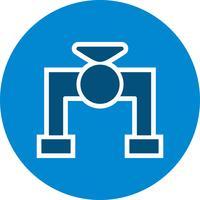 icône de vecteur de vanne