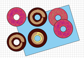 Free Donuts Vector