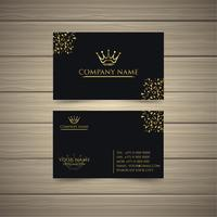 Latest Gold Business Card