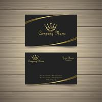 Simple Gold Business Card