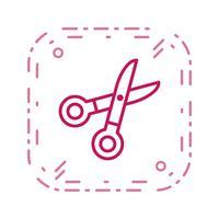 schaar vector pictogram
