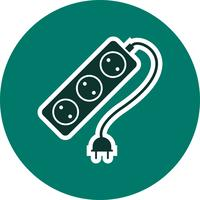 Extension Cable Vector Icon