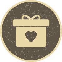 Icona del regalo vettoriale
