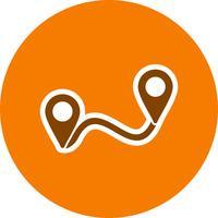 Route Vector Icon