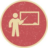 Icône d'enseignement de vecteur