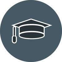 Vektor Graduation Cap Icon