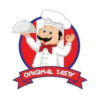 Cameriere Logo vettoriale