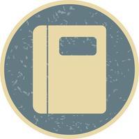 Icône de cahier de vecteur