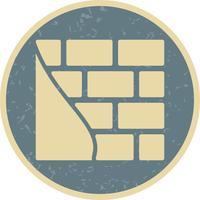 Mur de briques Vector Icon