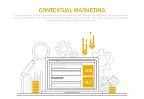 Contextual marketing banner