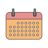 Vektor Kalender Ikon