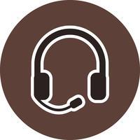 Icona di vettore di Earsphone