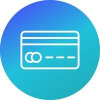Vektor Kreditkort Ikon