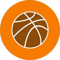 Vector basketbal pictogram