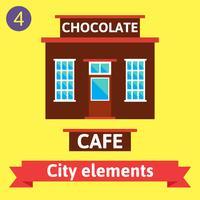 Edificio del caffè, bistrot