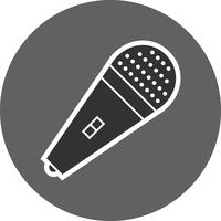 mic vector pictogram