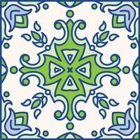 Carreaux d'azulejo portugais. Patte sans couture magnifique bleu et blanc