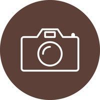 Ícone de vetor de câmera