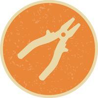 Icono de Vector de alicate