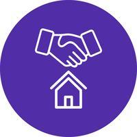 Icono de Vector de oferta de casa